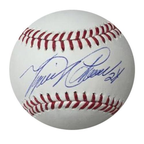 Photo of Miguel Cabrera Autographed Baseball