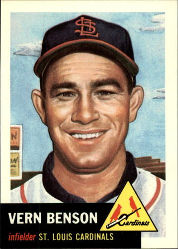 Photo of 1991 Topps Archives 1953 #205 Vern Benson