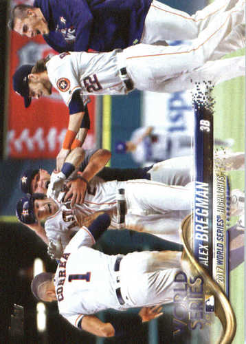 Photo of 2018 Topps #39 Alex Bregman WS HL