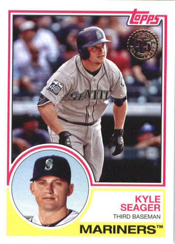 Photo of 2018 Topps '83 Topps #8334 Kyle Seager