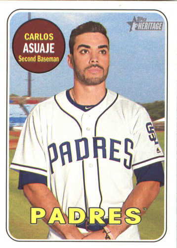 Photo of 2018 Topps Heritage #203 Carlos Asuaje