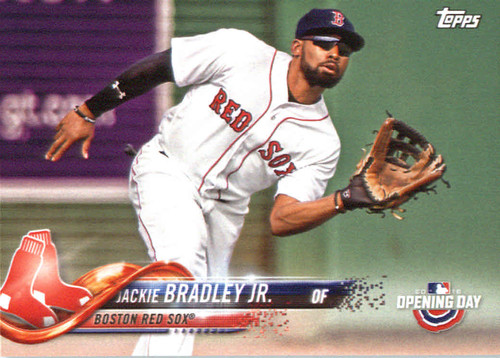 Photo of 2018 Topps Opening Day #116 Jackie Bradley Jr.