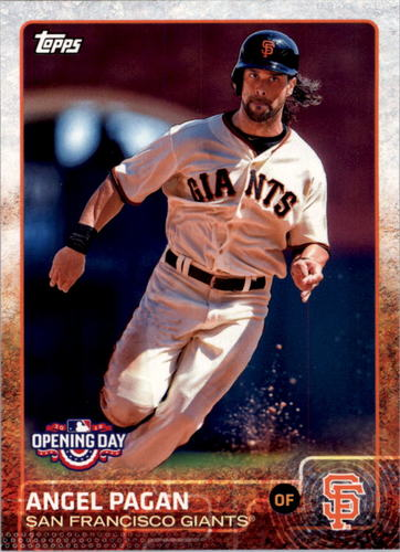 Photo of 2015 Topps Opening Day #129 Angel Pagan