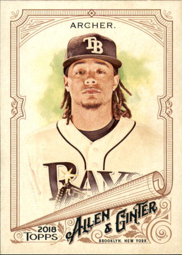 Photo of 2018 Topps Allen and Ginter #192 Chris Archer