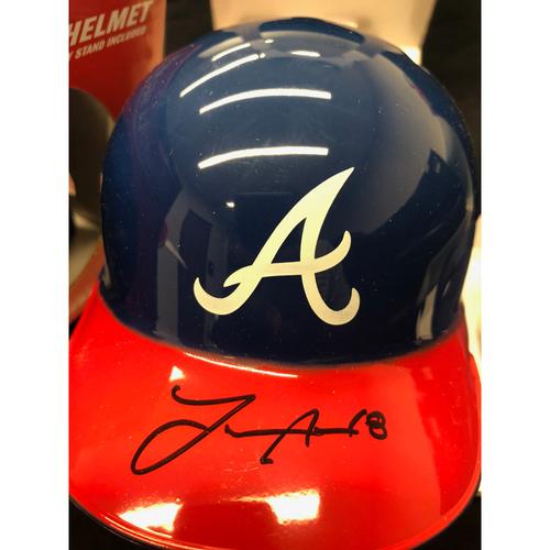 Photo of Lane Adams Autographed Mini Helmet