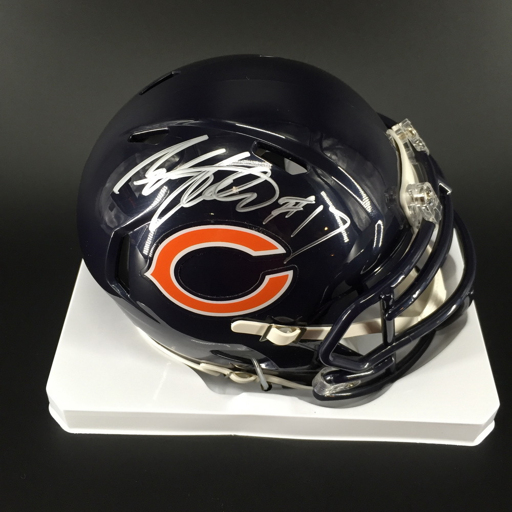NFL - Bears Anthony Miller Signed Bears Mini Helmet