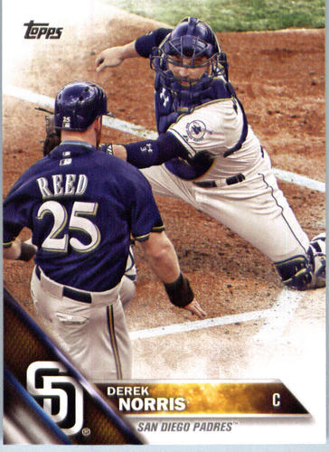 Photo of 2016 Topps #677 Derek Norris