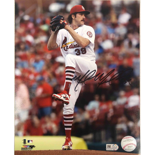 Photo of Cardinals Authentics: St. Louis Cardinals Miles Mikolas Autographed Photo