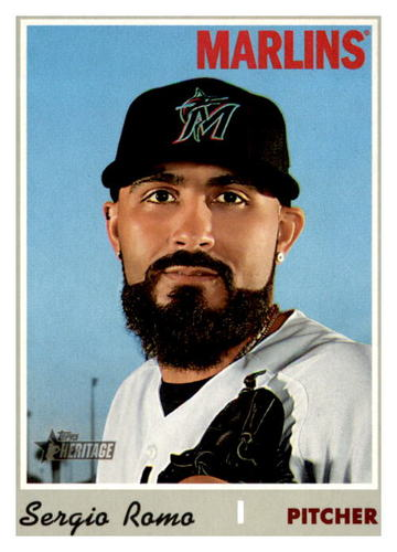 Photo of 2019 Topps Heritage #611 Sergio Romo