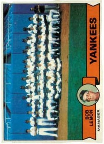 Photo of 1979 Topps #626 New York Yankees CL/Bob Lemon MG