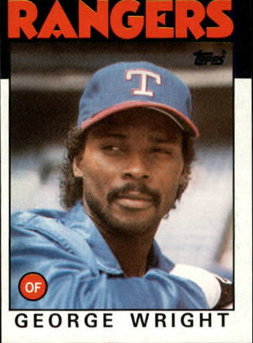Photo of 1986 Topps #169 George Wright