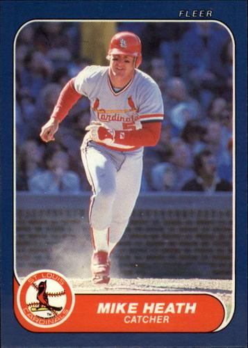 Photo of 1986 Fleer Update #50 Mike Heath