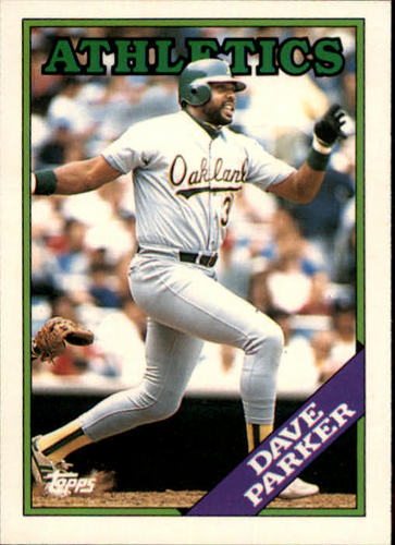 Photo of 1988 Topps Traded #81T Dave Parker