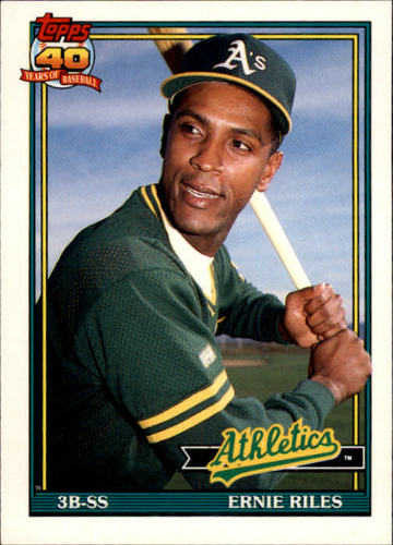 Photo of 1991 Topps Traded #97T Ernie Riles