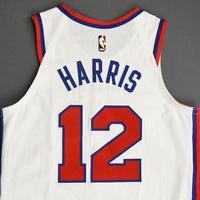 Tobias Harris - Philadelphia 76ers - Game-Worn Classic Edition 1970-71 Home Jersey - Scored a Team-High 26 Points - 2019-20 Season