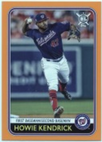 Photo of 2020 Topps Big League Orange #187 Howie Kendrick