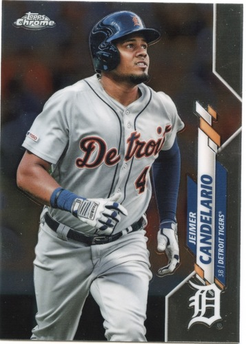 Photo of 2020 Topps Chrome #19 Jeimer Candelario