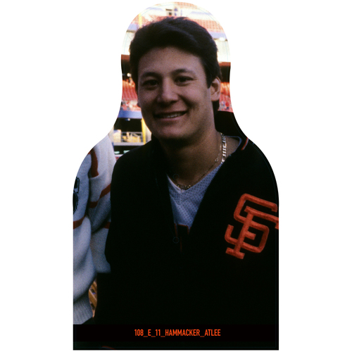 Photo of Giants Community Fund: Giants Atlee Hammacker Cutout
