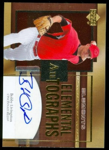 Photo of 2007 Upper Deck Elements Elemental Autographs #LI Bobby Livingston