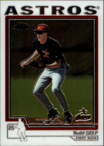 Photo of 2004 Topps Chrome #212 Todd Self FY RC