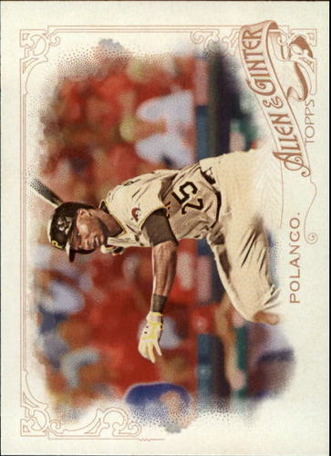 Photo of 2015 Topps Allen and Ginter #222 Gregory Polanco