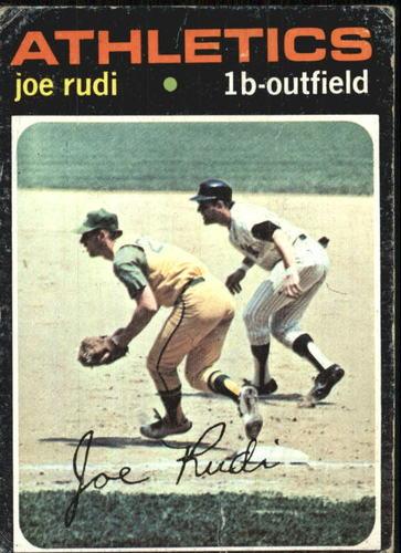 Photo of 1971 Topps #407 Joe Rudi