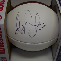 CHIEFS - ALEX SMITH SIGNED PANEL BALL