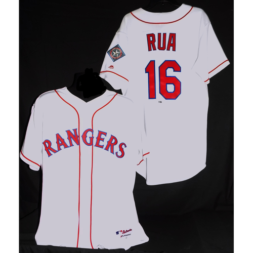 Ryan Rua 2017 Team-Issued Jersey
