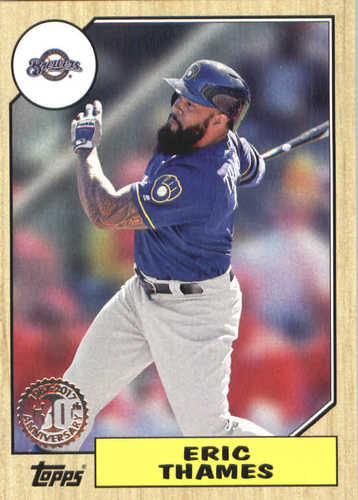 Photo of 2017 Topps Update '87 Topps #US8736 Eric Thames