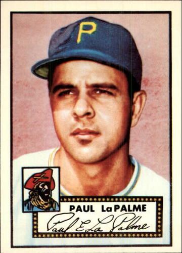 Photo of 1983 Topps 1952 Reprint #166 Paul LaPalme