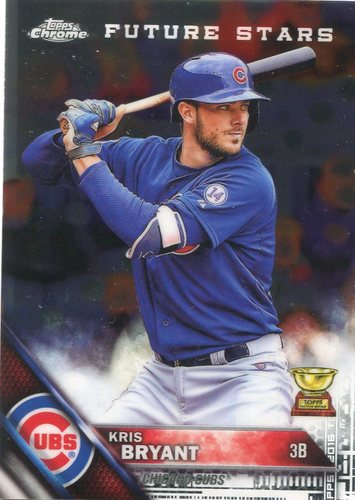 Photo of 2017 Topps Chrome Update All Rookie Cup #TARC15 Kris Bryant
