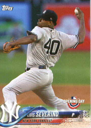 Photo of 2018 Topps Opening Day #75 Luis Severino
