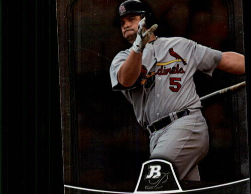 Photo of 2010 Bowman Platinum #5 Albert Pujols
