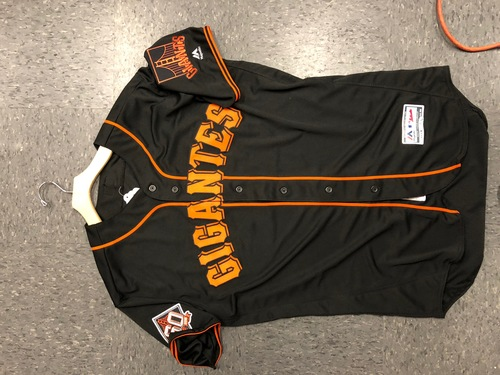 Photo of Rick Schu San Francisco Gigantes Black Jersey