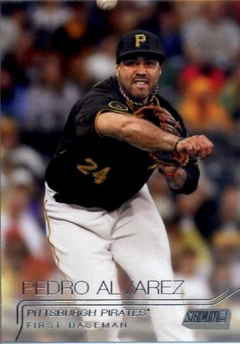 Photo of 2015 Stadium Club #119 Pedro Alvarez