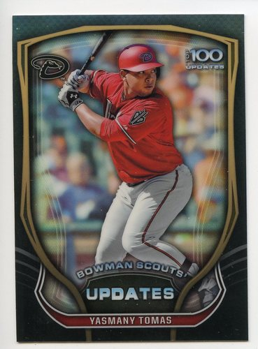 Photo of 2015 Bowman Chrome Bowman Scouts Update #BSUYT Yasmany Tomas