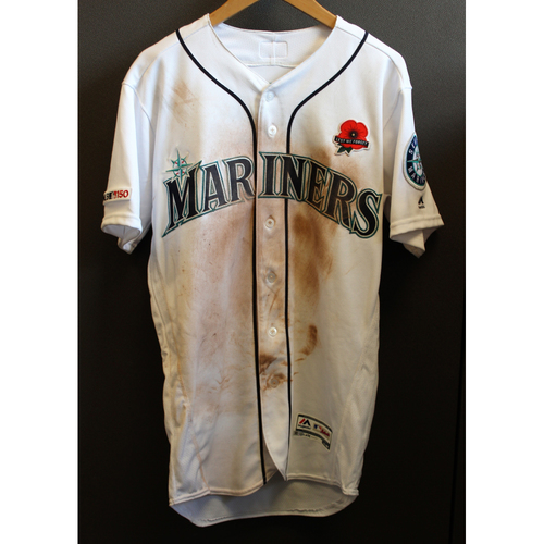 Photo of Mallex Smith Game-Used Memorial Day Jersey