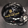 PCF - Walter Payton Man of the Year multi signed revolution helmet (including Drew Brees, Peyton Manning, Joe Green, Dan Marino, Roger Staubach) signed by over 27 players