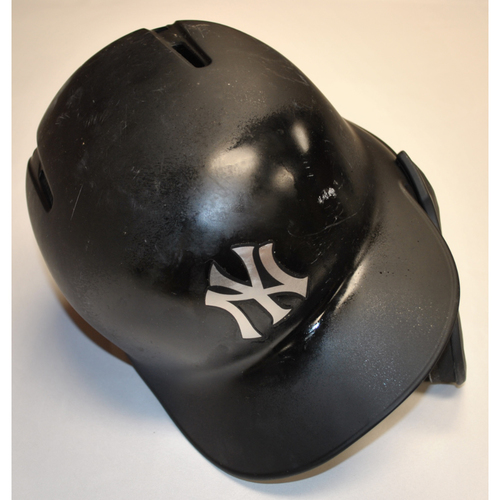 "Photo of Gleyber ""DE CARACAS"" Torres New York Yankees Game-Used 2019 Players' Weekend Helmet"