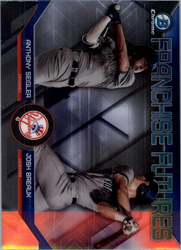 Photo of 2018 Bowman Chrome Draft Franchise Futures #FFNYY Anthony Seigler/Josh Breaux