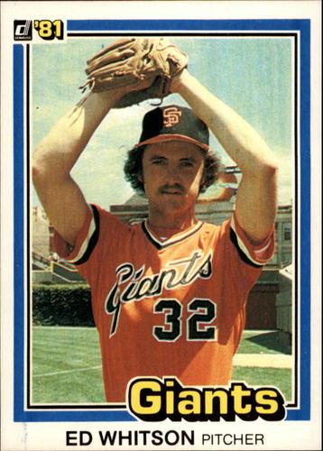 Photo of 1981 Donruss #74 Ed Whitson