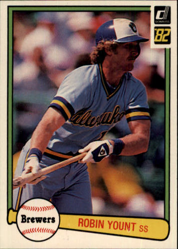 Photo of 1982 Donruss #510 Robin Yount