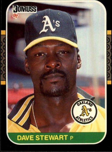 Photo of 1987 Donruss #648 Dave Stewart