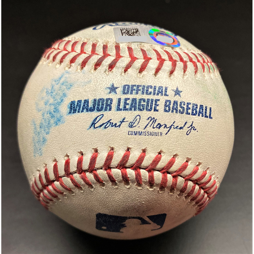 Photo of Game-Used Baseball:  Edwin Encarnacion Chicago White Sox Home Run (MLB AUTHENTICATED)