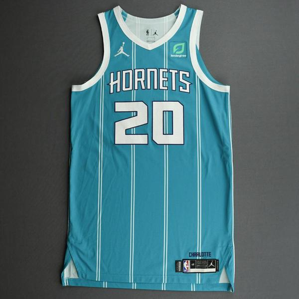 Image of Gordon Hayward - Charlotte Hornets - Game-Worn Icon Edition Jersey