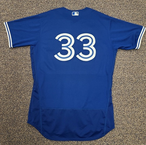 Photo of Authenticated Team Issued 2020 Spring Training Jersey: #33 Ruben Tejada. Size 46