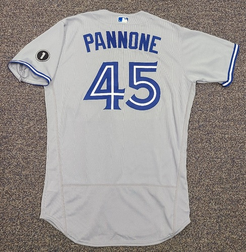 Photo of Authenticated Team Issued Jersey: #45 Thomas Pannone (2020 Season). Set 2. Size 44.