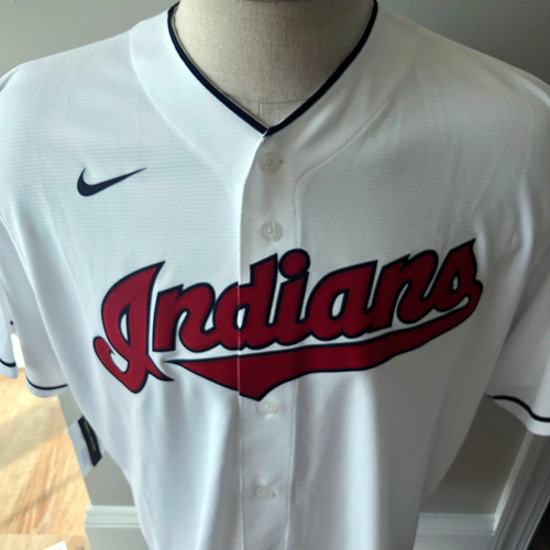 Photo of UMPS CARE AUCTION: Signed Cleveland Indians Eddie Rosario Jersey, Size XL
