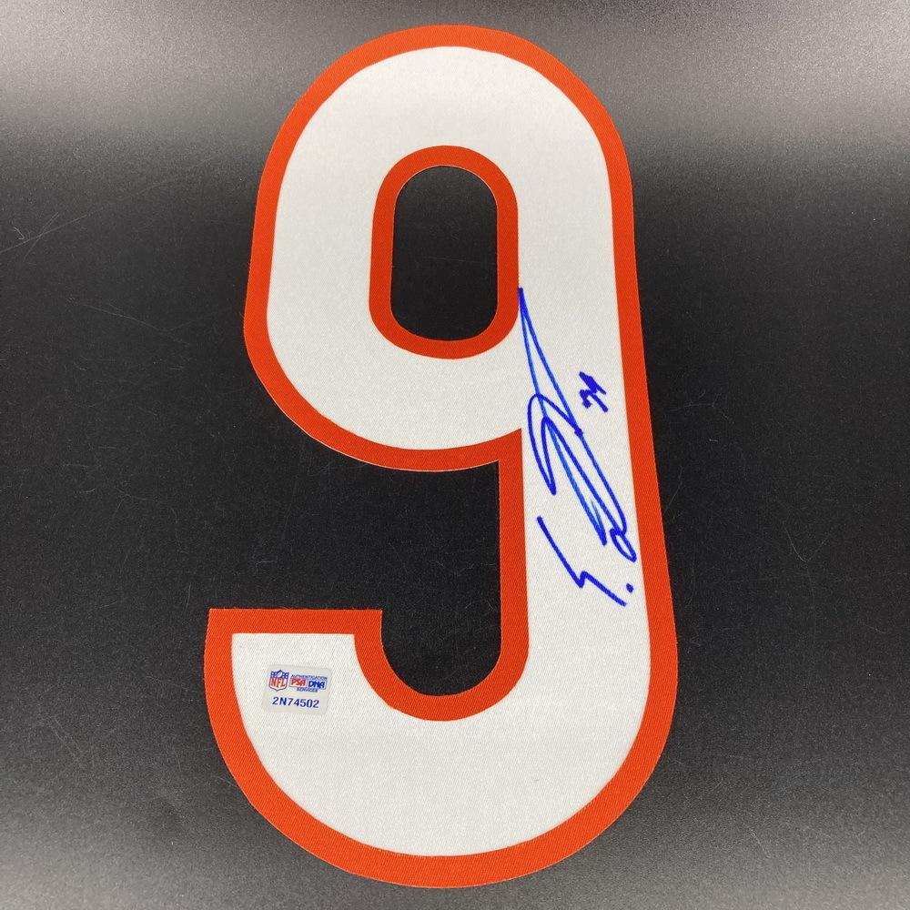 NFL - Bears Eddie Jackson Signed Jersey Number