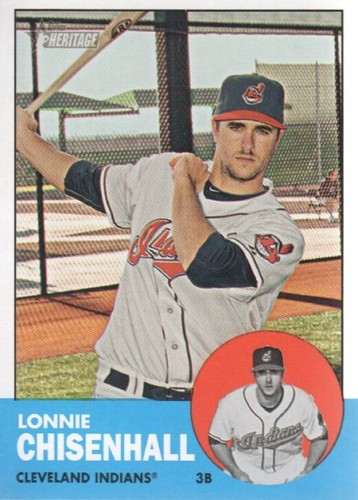 Photo of 2012 Topps Heritage #170 Lonnie Chisenhall